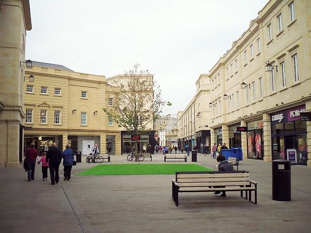 Southgate development, Bath