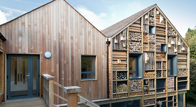 Mellor Primary School, by Sarah Wigglesworth Architects