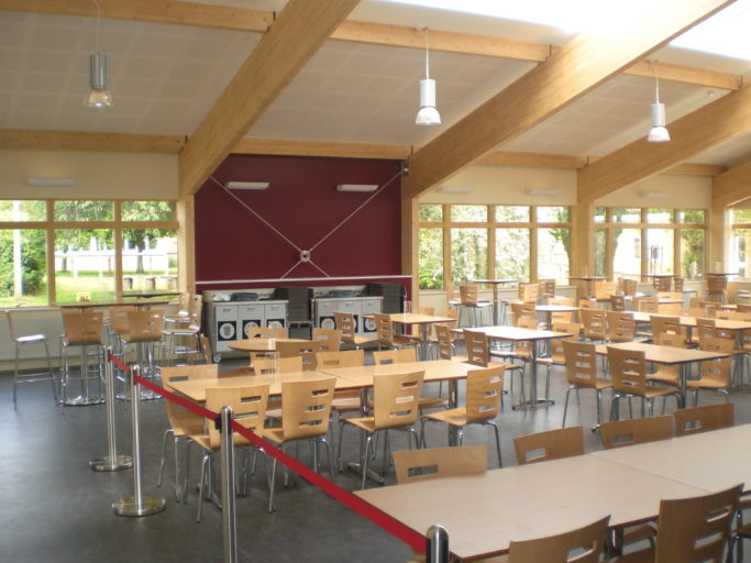 DKA | Sheldon School | Dining Hall