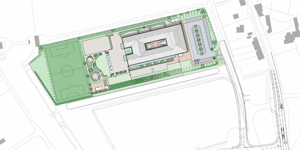 DKA | Mendip Free School | Site Plan
