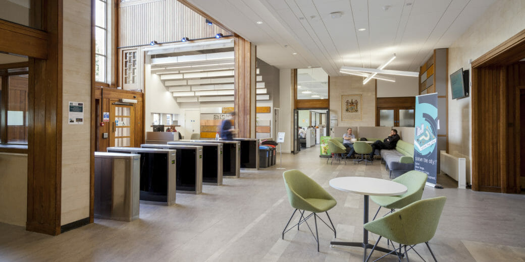 DKA | Architects in Bath | BIM Management | Interiors | Faculty of Engineering Queen's Building