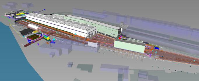 DKA | Exeter Rail Depot | 3D View